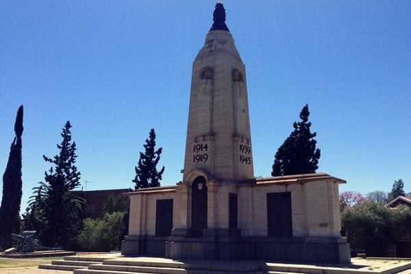 Cenotaph in Kimberley