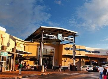 Diamond Pavilion Shopping Mall in Kimberley